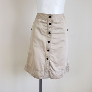 Banana Republic Heritage Collection Buttoned Skirt